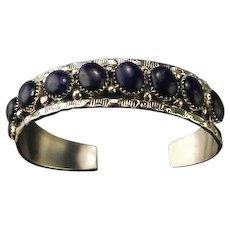Navajo Multi-Stone Lapis Bracelet