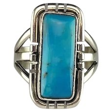 Beautiful Sky Blue Turquoise Ring