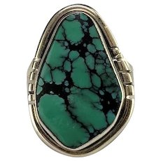 Navajo Sterling and Turquoise Ring