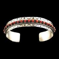 Zuni Coral JP Ukestine Bracelet