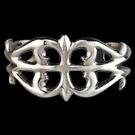 Sterling Silver Cast Bracelet