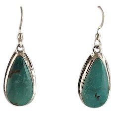 Navajo Sterling and Turquoise Earrings