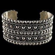 Studded Sterling Bracelet