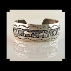Vintage Navajo Storyteller Bracelet