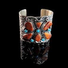 Hidden Butterfly Bracelet by Navajo Artist Tillie Jon