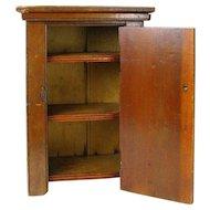 Wooden Doll Wardrobe, Miniature Furniture, Salesman's Sample