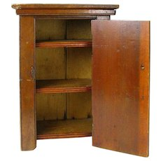 Wooden Doll Wardrobe, Miniature Furniture, Salesman's Sample