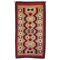 Navajo Hand Made Weaving, Rug, Western Reservation
