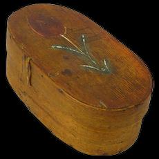 Northern European Tulip Painted Pantry Box