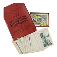 Yellowstone National Park Card Game, Cincinnati Game Co., 1898