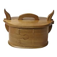 Fumed Beech Norwegian Style Bentwood Box