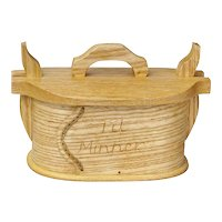 "Syttende Mai! Traditional Norwegian Tine, Quartersawn Ash, ""Til Minner"", Artisan Crafted"