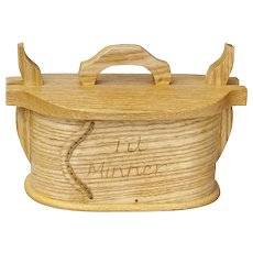 """Free Shipping! Traditional Norwegian Tine, Quartersawn Ash, """"Til Minner"""", Artisan Crafted"""