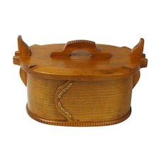 Norwegian Style Quartersawn Cherry Tine, Sweetpea Cottage Artisan Crafted