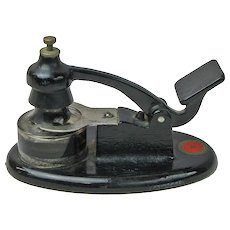 Theo Alteneder and Sons Drafting Inkwell with Original Ink Bottle, Patented 1930