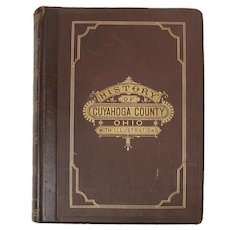 History of Cuyahoga County, Ohio, With Illustrations, First Edition, 1879
