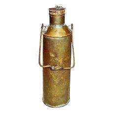 Brass Steamship Bunker Fuel Dipper, Merchant Marine
