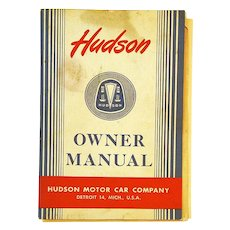 Owner's Manual for 1948 Hudson Motor Car , Zenith Radio Insert