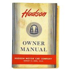 1948 Hudson Motor Car Owner Manual, Zenith Radio Insert
