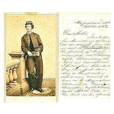 Civil War Letter, Battle of  Antietam, 7th Regiment, Pennsylvania Militia