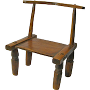 Primitive Hand Made Child's Chair