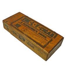 """The L-V-Cigar"" Box, A Gentleman's Smoke, Ca. 1901"