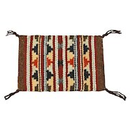 Wide Ruins Navajo Hand Woven Weaving, Tapestry, Ca. 1970's