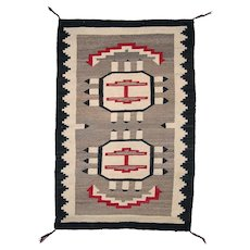 Pictorial Navajo (Dineh) Weaving with Provenance