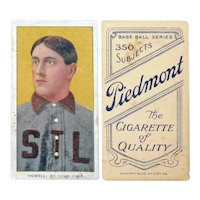 Harry Taylor Howell, St. Louis Browns, Piedmont Baseball Card, T260, Ca. 1904-10