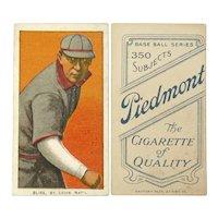 Jack Bliss, St. Louis Cardinals, T260, Piedmont Baseball Card, Ca. 1908-1912
