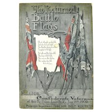 """""""The Returned Battle Flags"""" Booklet, Confederate Veterans, 1905, Cotton Belt Route"""