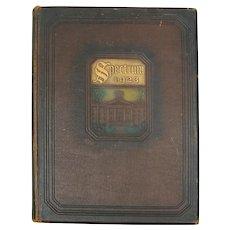 """Gettysburg College Yearbook """"Spectrum 1923"""""""