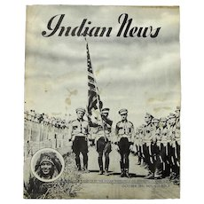Indian Motorcycle Co. Publication, Indian News, October, 1941