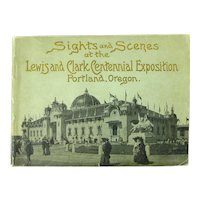 Lewis And Clark Centennial Exposition Souvenir Booklet, 1905