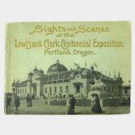 Lewis And Clark Centennial Exposition Souvenir Booklet, 1905