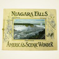 Niagara Falls Souvenir Booklet, America's Scenic Wonder, Ca. 1910