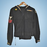 Vintage WWII Seabees Navy Uniform