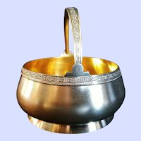 Silver Russian Sugar Basket, Post Revolution