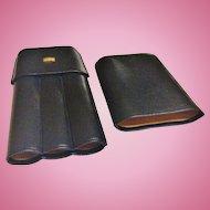 Vintage S.T.Dupont Leather Cigar Case