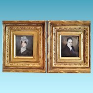 American Miniature Portrait Paintings, Early 19th Century