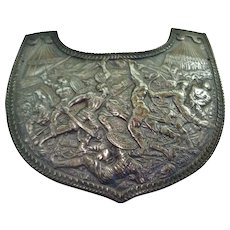 Antique Military Gorget, Roman Revival, 19th Century