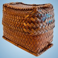 A Fine Japanese Double/Covered Basket, Meiji Period