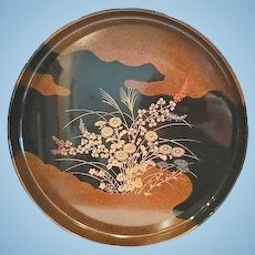 Japanese Lacquer Tray, CA.1930's