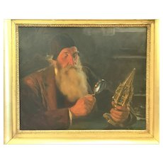 """Ulpiano Checa Y Sanz,  Painting of """"The Connoisseur"""", CA.1900"""