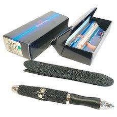 Rare Pen, Sensa-Exotic Minx Sting Ray Ballpoint