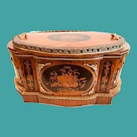 Napoleon III French Table Jardiniere, 19th C.