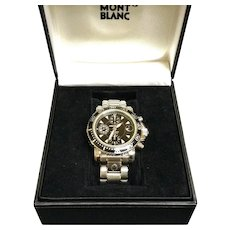 Mont Blanc Sports Chronograph Watch, #29300