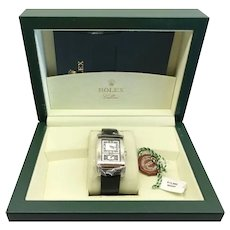 Rolex Cellini Prince 18kt White Gold Watch
