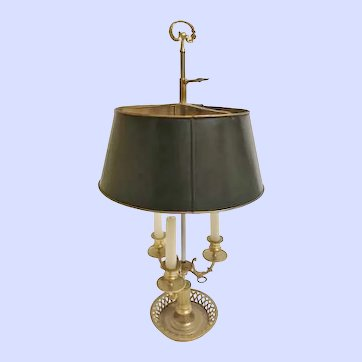 18th Century French Bouillotte Lamp, CA.1780