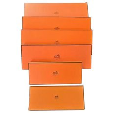 "5 Vintage ""Hermes"" Boxes"